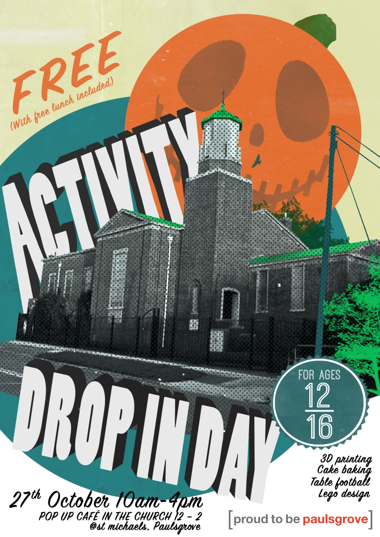 Drop in activity day poster for Gambol.jpg